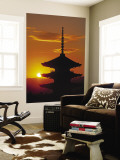 Yasaka Pagoda, Kyoto, Japan Wall Mural by James Montgomery