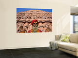 Palace of the Winds, Holyman, Jaipur, Rajasthan, India Wall Mural by Steve Vidler