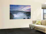 Godafoss Waterfall, Iceland Wall Mural by Michele Falzone