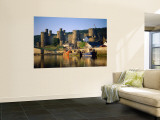 Conwy Castle and River Conwy, Wales Wall Mural by Steve Vidler