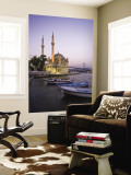 Ortakoy Camii and the Bosphorus Bridge, Istanbul, Turkey Wall Mural by Michele Falzone