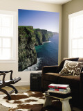 Cliffs of Moher, County Clare, Ireland Wall Mural by Steve Vidler