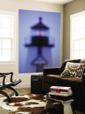 Brant Point Lighthouse, Nantucket Island, Massachusetts, USA Wall Mural by Walter Bibikow