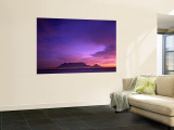 Table Mountain, Sunset, Cape Town, South Africa Wall Mural by Steve Vidler