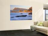 Panorama of Muizenburg, False Bay, Cape Town, South Africa Wandgemälde von Peter Adams