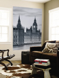 Big Ben and Houses of Parliament, London, England Reproduction murale par Doug Pearson
