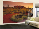 Ayers Rock, Northern Territory, Australia Wall Mural – Large by Doug Pearson