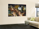 The Strip, Las Vegas, Nevada, USA Wall Mural by Walter Bibikow