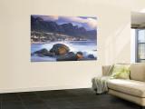 Clifton Bay and Beach, Cape Town, South Africa Wandgemälde von Peter Adams
