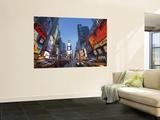 Manhattan Times Square, New York City, USA Adesivo murale di Alan Copson