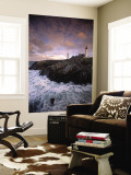 Lighthouse at Pointe de St-Mathieu, Brittany, France Wall Mural by Walter Bibikow
