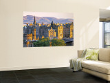 Skyline of Edinburgh, Scotland Wall Mural by Doug Pearson