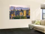 Skyline of Edinburgh, Scotland Wall Mural by Doug Pearson