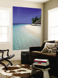 Tropical Beach, Maldives, Indian Ocean Reproduction murale géante par Jon Arnold