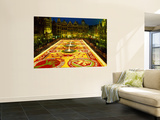 Grand Place, Floral Carpet, Brussels, Belgium Wall Mural by Steve Vidler