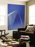 USA, Missouri, St. Louis, Gateway Arch Wall Mural by Alan Copson