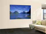 Milford Sound, Fjordland, South Island, New Zealand Wall Mural by Jon Arnold