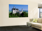 Neuschwanstein Castle, Bavaria, Germany Wall Mural by Steve Vidler