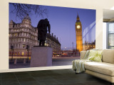 Big Ben, Houses of Parliament, London, England Wall Mural – Large by Jon Arnold