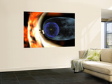 Voyager 2 Spacecraft Studies the Outer Limits of the Heliosphere Wall Mural