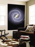 Milky Way Galaxy Wall Mural