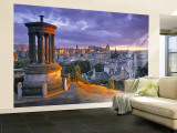Stewart Monument, Calton Hill, Edinburgh, Scotland Wall Mural  Large by Doug Pearson