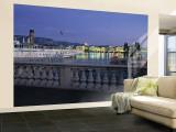 Lake Geneva, Geneva, Switzerland Wall Mural – Large by Jon Arnold