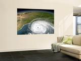 Hurricane Rita Wall Mural