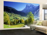 Grindelwald, Berner Oberland, Switzerland Wall Mural – Large by Peter Adams