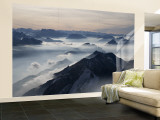 View from the Mount Santis, Appenzell Innerrhoden, Switzerland Wall Mural – Large by Ivan Vdovin