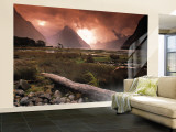 Milford Sound, Fiordland, South Island, New Zealand Wall Mural – Large by Doug Pearson