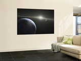 A Massive Asteroid Belt in Orbit Around a Star the Same Age and Size as Our Sun Wall Mural