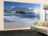 Table Mountain, Cape Town, South Africa Wall Mural – Large by Peter Adams