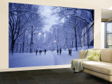 Central Park, New York City, Ny, USA Wall Mural – Large by Walter Bibikow