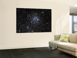 Messier 52, Also Known as NGC 7654, is an Open Cluster in the Cassiopeia Constellation Wall Mural