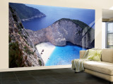 Navagio, Zante, Ionian Islands, Greece Wall Mural – Large by Danielle Gali