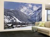 Kandersteg, Berner Oberland, Switzerland Wall Mural – Large by Walter Bibikow