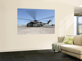 An MH-53E Sea Dragon Helicopter Wall Mural
