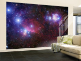 The Belt Stars of Orion Wall Mural  Large