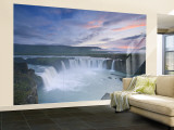 Godafoss Waterfall, Iceland Wall Mural – Large by Michele Falzone