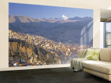 La Paz, Bolivia Wall Mural  Large by Peter Adams