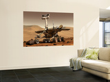 Artist's Rendition of Mars Rover Wall Mural