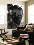 A Paintball Round Between the Eyes Wall Mural
