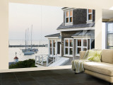 Harbour, Menemsha, Martha's Vineyard, Massachusetts, USA Wall Mural  Large por Walter Bibikow