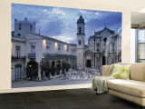 Cathedral Plaza, Havana, Cuba Wall Mural – Large by Peter Adams
