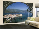 Old Town, Budva, Montenegro Wall Mural – Large by Walter Bibikow