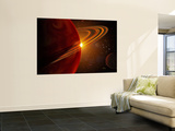 This is an Artist's Concept of Giant Planet Recently Discovered Orbiting the Sun-Like Star 79 Ceti Wall Mural