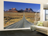Monument Valley, Utah, USA Wall Mural – Large by Gavin Hellier