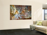 A 50-Light-Year-Wide View of the Central Region of the Carina Nebula Wall Mural