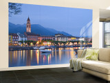 Ascona, Lago Maggiore, Ticino, Switzerland Wall Mural – Large by Demetrio Carrasco